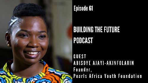 Abisoye Ajayi-Akinfolarin is the founder of Pearls Africa Foundation.  Pearls Africa Foundation is a non-governmental organization that provides young girls living in underserved communities through training in technology, skill acquisitions and mentorship.  One of their projects,