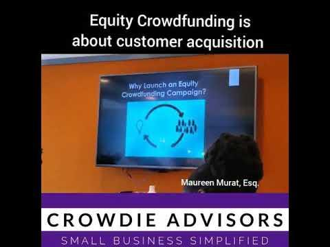 Oftentimes, when businesses are raising money, they keep their customers out of the equation. But with equity crowdfunding, you can bring them along for the ride. There's nothing better than being a business with customers.