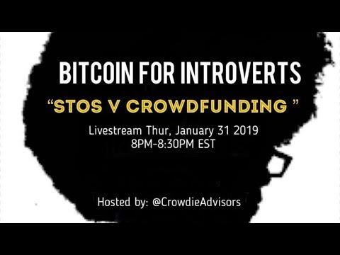 Providing an update on the current state of securitized token offerings (STOs) and crowdfunding for people interested in raising capital.