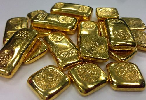 Gold and bitcoin were trading slightly in the red as the U.S. government shared better-than-expected jobs figures.