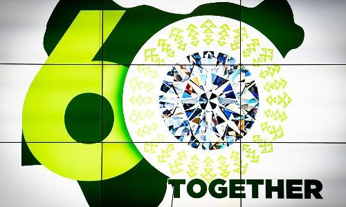 As part of Federal Government's initiative of having an inclusive Diamond Jubilee Celebration, President Muhammadu Buhari, on Wednesday launched and unveiled the anniversary logo that was earlier presented to the public virtually.
