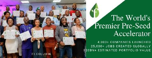 As applications for Cohort III open The Lagos chapter of the world's largest pre-seed start-up accelerator, Founder Institute, recently celebrated the 23 founders who successfully completed Cohort II, in an online version of their Velocity event themed