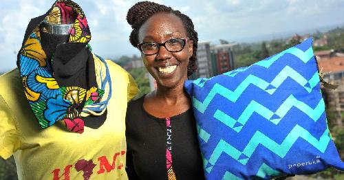 Peperuka is a Kenyan company which designs and manufactures apparel and home decor items that incorporate quirky statements such as