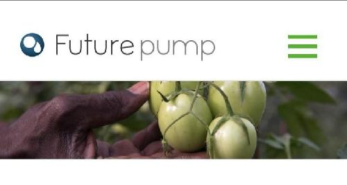 There are 500 million one-acre farmers around the world. Rainfall has become very unpredictable due to climate change and fuel for petrol pumps is expensive. Futurepump is on a mission to design develop and manufacture robust solar irrigation products for small scale farmers. The FuturePump solar irrigation pumps are both robust and portable.