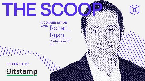 IEX president Ronan Ryan broke down the market data debate and where it's headed in the crypto realm on this week's episode of The Scoop.
