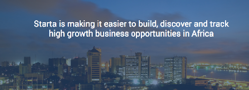 Build, discover and track high growth businesses in Africa