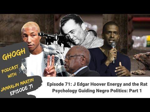 Part 1. Jamarlin Martin discusses how J. Edgar Hoover's goal to water down and neutralize strong Black politics involved informants and agents trading money ...