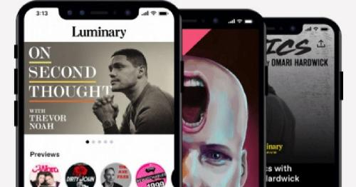 Luminary launched today. But the $100 million-backed premium podcast venture did so without top shows like New York Times' (NYT)