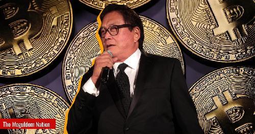 Businessman Robert Kiyosaki, author of the bestselling book