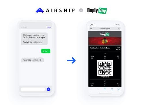 Airship is announcing that it has acquired mobile commerce startup ReplyBuy. The startup (which was a finalist at TechCrunch's 1st and Future startup competition in 2016) works with customers like entertainment venues and professional and college sports teams to send messages and sell tickets...
